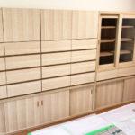 田中建具株式会社「造作家具:食器棚」