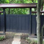 田中建具株式会社「造作建具:壁と門」